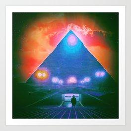 Enter the Tomb Art Print