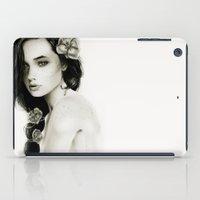 katniss iPad Cases featuring Katniss by Isaiah K. Stephens
