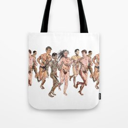 Naked Runners Tote Bag