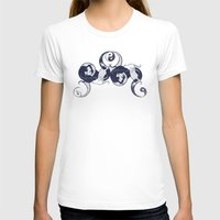 yin yang T-shirts featuring Yin & Yang by Charity Ryan