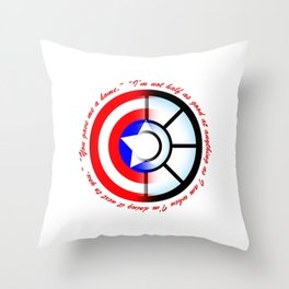 SteveTony - Encircling Quotes Throw Pillow