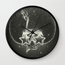 Mr. Stardust Wall Clock