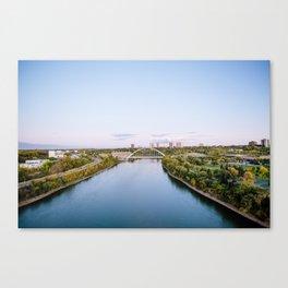 Walterdale Bridge Canvas Print