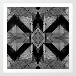 pattern c3 Art Print