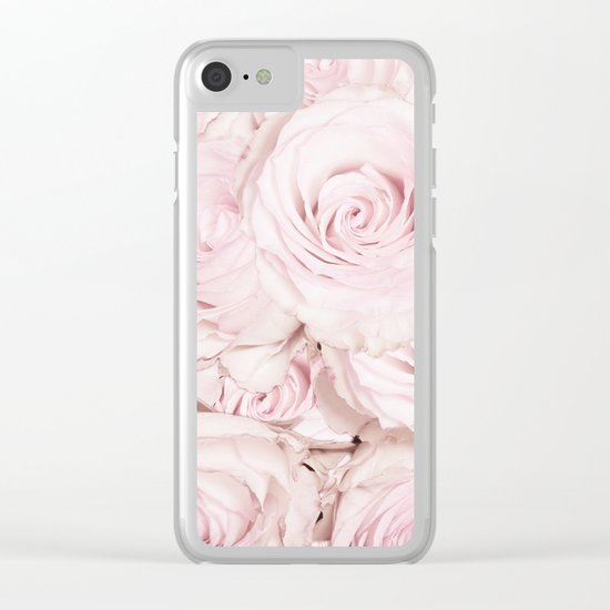 Roses have thorns Clear iPhone Case