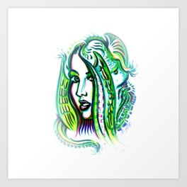 Exposed Inner Demons Art Print