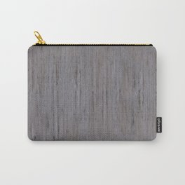 Pale Gray Stone Structure Carry-All Pouch