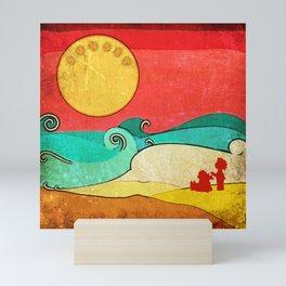Sunset. Mini Art Print