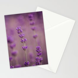 Its all so purple Stationery Cards