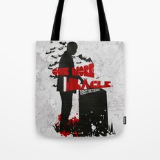 One More Miracle : Sherlock Tote Bag