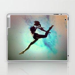 Ballet Dancer Feat Lady Dreams Abstract Art Laptop & iPad Skin