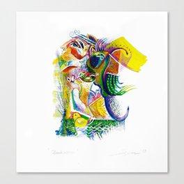 Bookworm Canvas Print