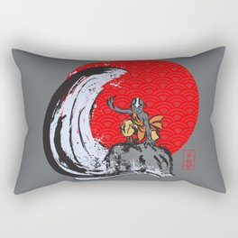 Aang in the Avatar State Rectangular Pillow