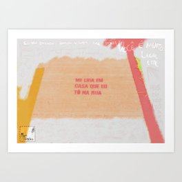 Farinha do Desprezo Art Print