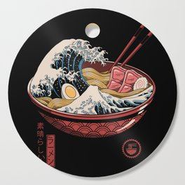 Great Ramen Wave Cutting Board