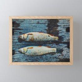 Fish-Fishy-Fish Framed Mini Art Print