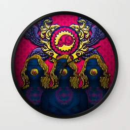 Sirens Wall Clock