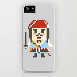 Digital Jack Sparrow and Willy Wonka iPhone Case