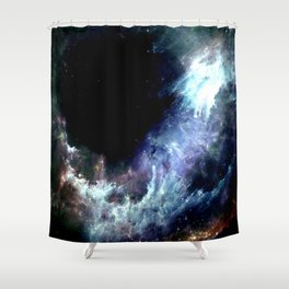 ζ Mizar Shower Curtain