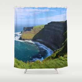 More Moher Cliffs Shower Curtain
