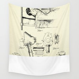 Respirator-1911 Wall Tapestry