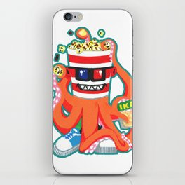 Hurricane Popcorn Kaiju Food Monster iPhone Skin
