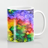 karma Mugs featuring Karma by Claire Day