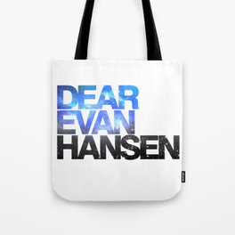 Dear Evan Hansen | Galaxy Tote Bag