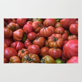 Tomato Pattern Rug