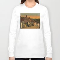 agnes Long Sleeve T-shirts featuring Daybreak by Megs stuff