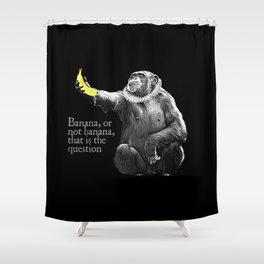 Banana, or not banana Shower Curtain