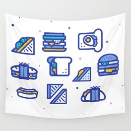 Sandwiches Wall Tapestry