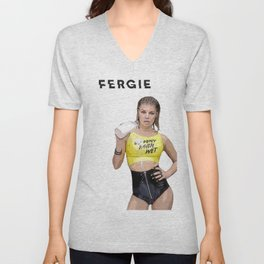 Fergie milf money Unisex V-Neck