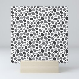 A Pebble Path Pattern Mini Art Print