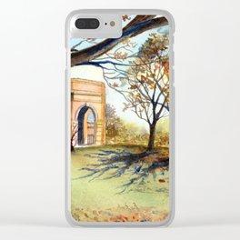 The Valley Garden, Harrogate Clear iPhone Case