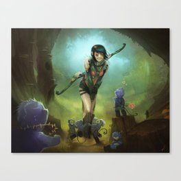 Savior of the little ones Canvas Print