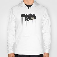 police Hoodies featuring Police 995 by Tony Vazquez