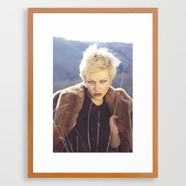 Hilltop Harmonies Framed Art Print