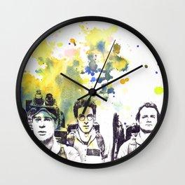 Ghostbusters Peter Venkman, Egon Spengler, Raymond Stantz Wall Clock