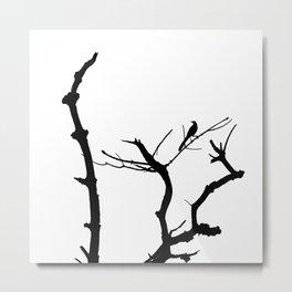 bird and tree Metal Print