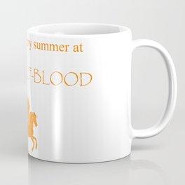 Spending my summer at Camp Half-Blood Kaffeebecher