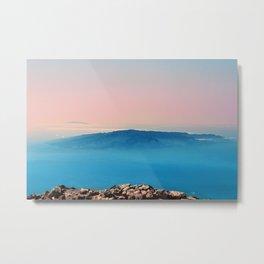 La Gomera, El Hierro from the top of Teide Metal Print
