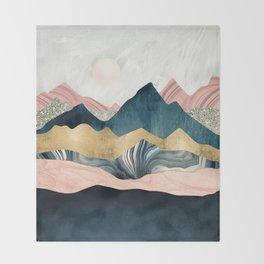 Plush Peaks Throw Blanket