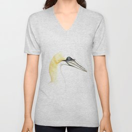 Northern gannet Unisex V-Neck