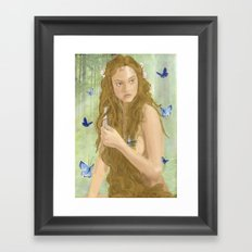 Nymphs 2 Framed Art Print