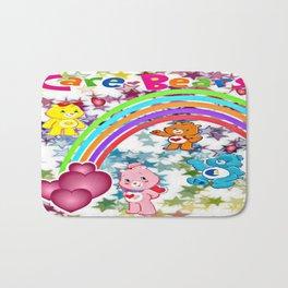 Care Bears Rainbow and Stars Bath Mat