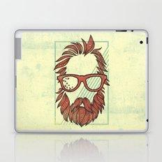 Beard and Shades Laptop & iPad Skin