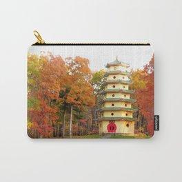 Jade Buddha Pagoda Carry-All Pouch