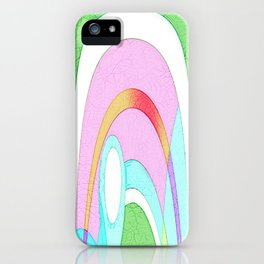 MODRIAN MINION ABSTRACT iPhone Case