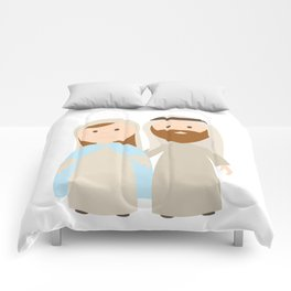 St. Joseph and Virgin Mary Comforters